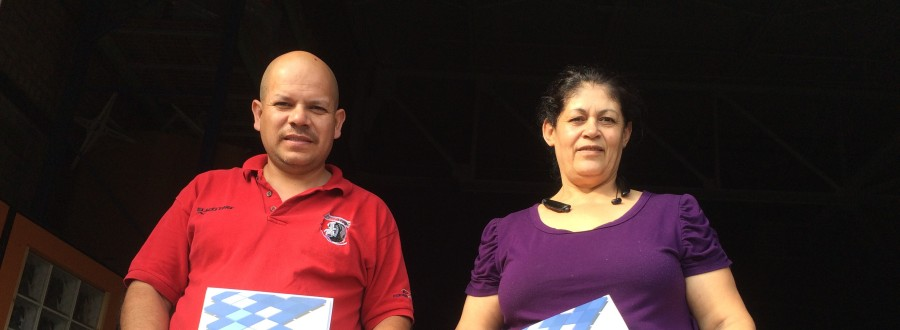 Armando Robles and Beatriz Gurrola, worker-owners, New Era Windows and Doors Cooperative