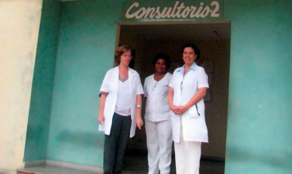 Neighborhood clinic in Havana